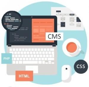 Создание сайта под ключ на CMS