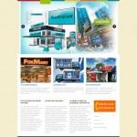 Создание сайта для рекламной компании